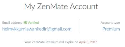 Mendapatkan Akun Zenmate Premium Gratis3