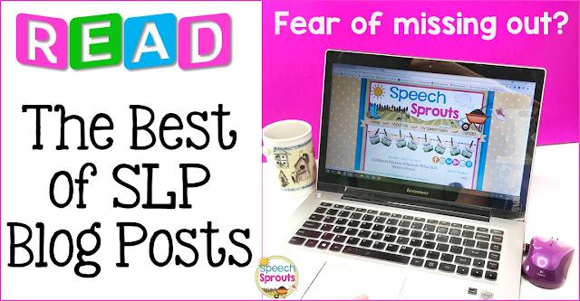 SLP/ Speech Therapy Blog Posts / Speech Sprouts