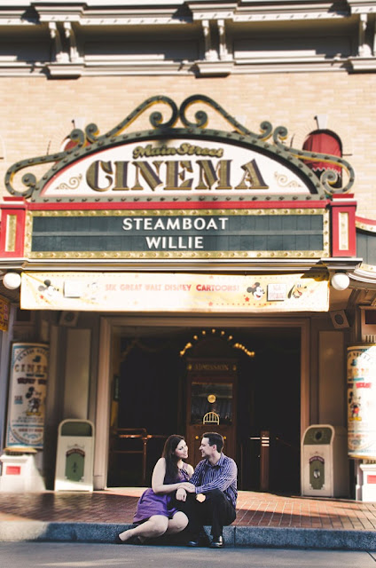 Disneyland Engagement Shoot - Wendy and Jeff