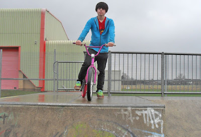 Skate Park at Ancholme Leisure Centre - picture on Nigel Fisher's Brigg Blog