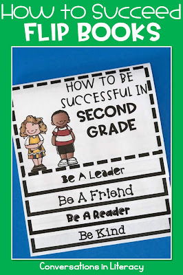 Back to School Writing Activities How to Succeed Flip Book