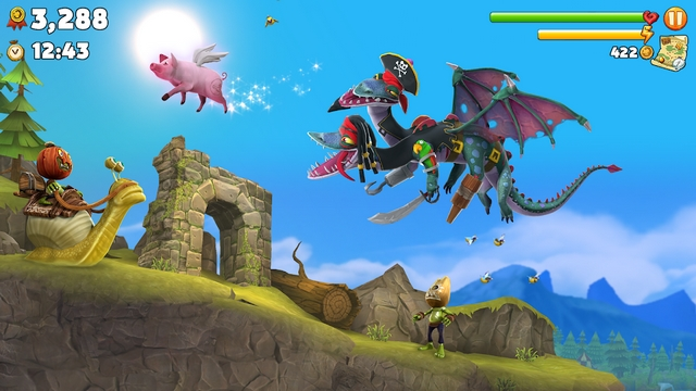 hungry dragon hile apk