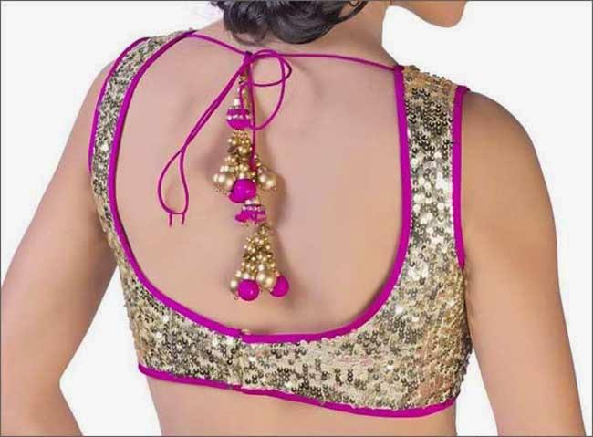 Beaded Net Collar Pattern