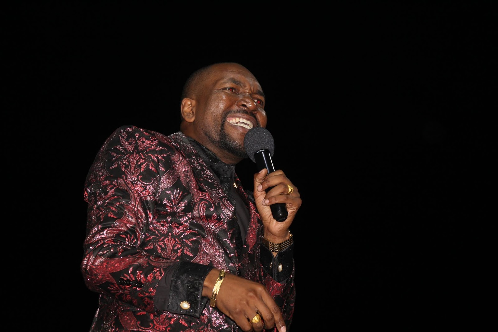 Prophet Blessing Chiza Preaches On 'Demonic Limits To Being A Kingdom General' At Tiyambuke 2018