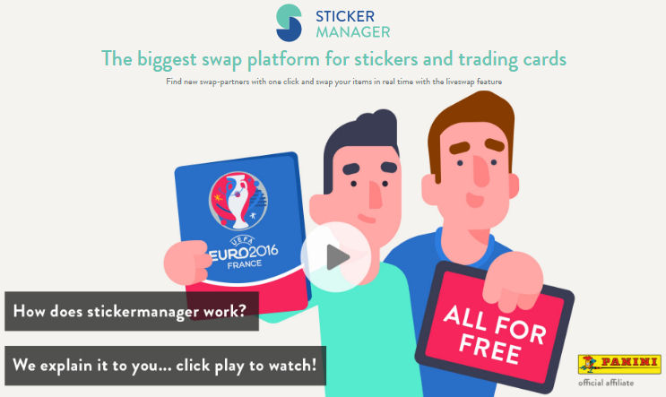 Sticker Manager