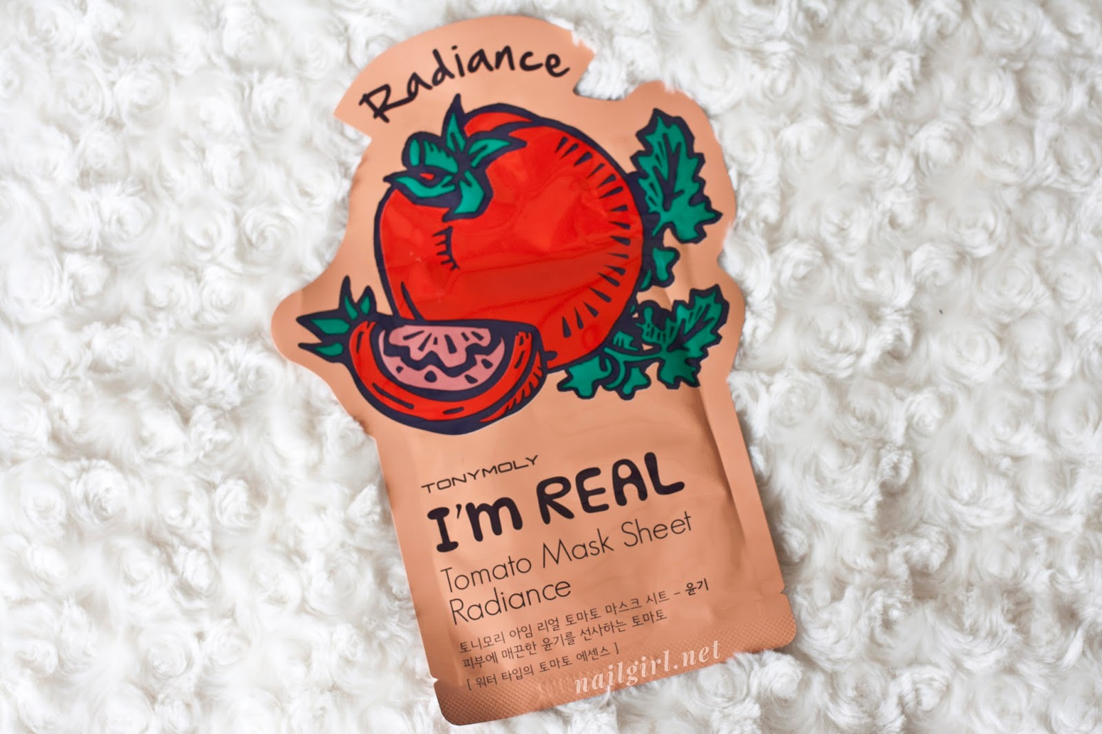 tonymoly tomato radiance mask review nz