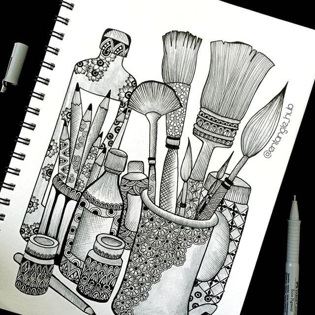 03-Paintbrushes-and-Pencils-Entangle-Hub-www-designstack-co