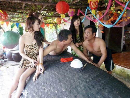 Hình ảnh hot girl tuyển chọn trong các phim hài tết Việt
