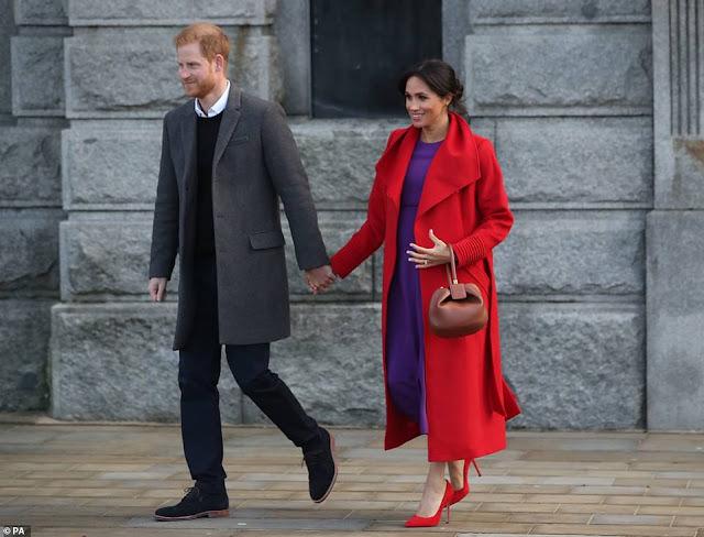 Wizyta księcia i księżnej Sussex w Birkenhead