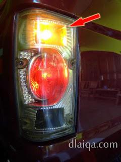 lampu sein belakang