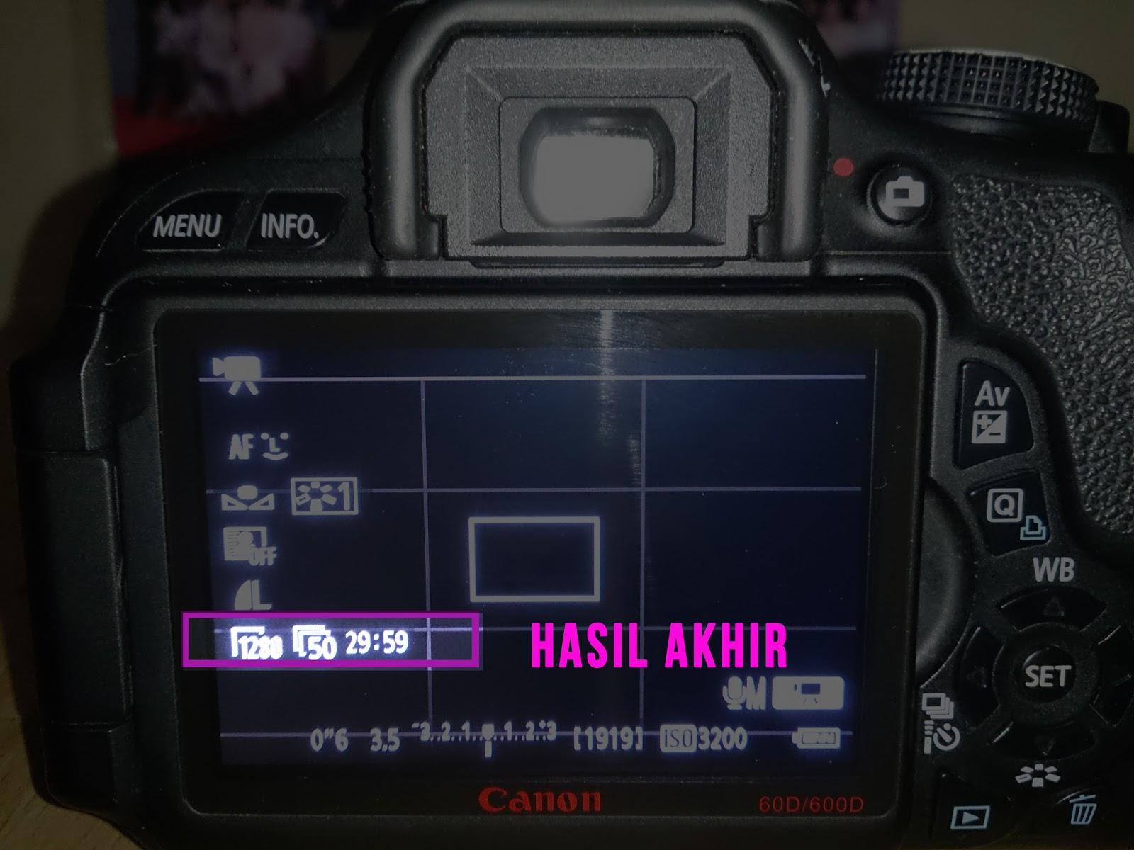 Dan sekarang kalian bisa melihat kamera kalian telah terpasang dengan setting yang sudah kalian lakukan tadi