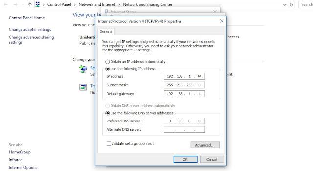 Cara Seting Airgrid M5HP sebagai Acces Point Via Komputer