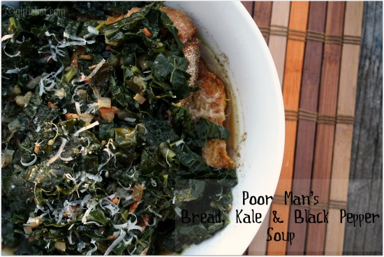50 Women Game-Changers (in food): #25 Paula Wolfert - Poor Man's Bread, Kale, and Black Pepper Soup