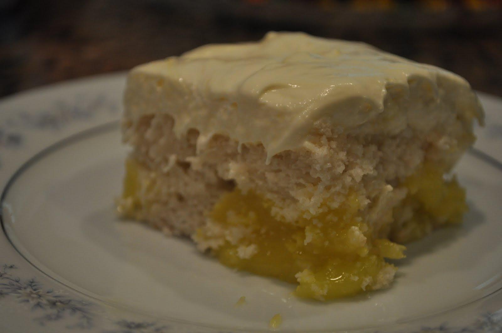 Lemon Cake Mix With Lemon Pie Filling