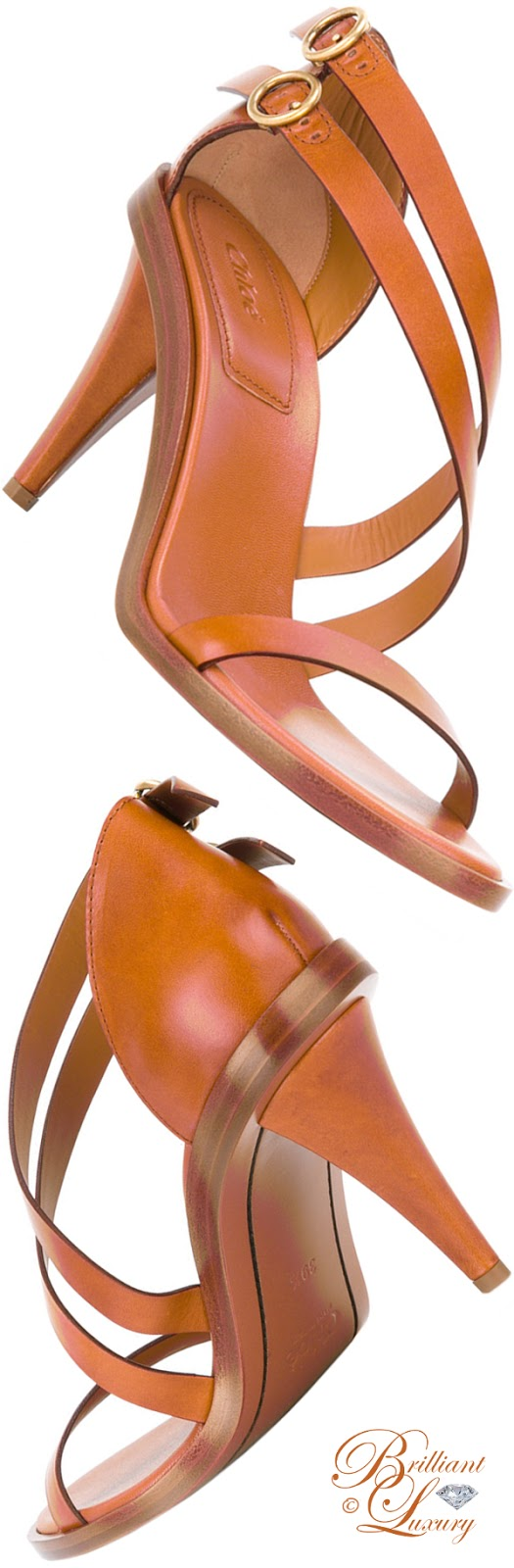 Brilliant Luxury ♦ Chloé Niko Cone Heeled Sandal