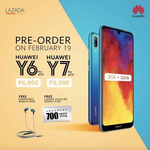 Huawei Y7 Pro 2019 Pre-Order