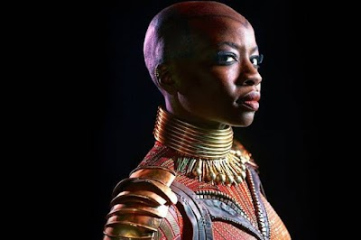 Black Panther's Okoye in Africa