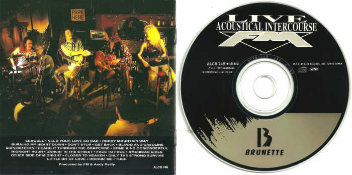FM - Live Acoustical Intercourse [Japanese Edition] Out Of Print disc