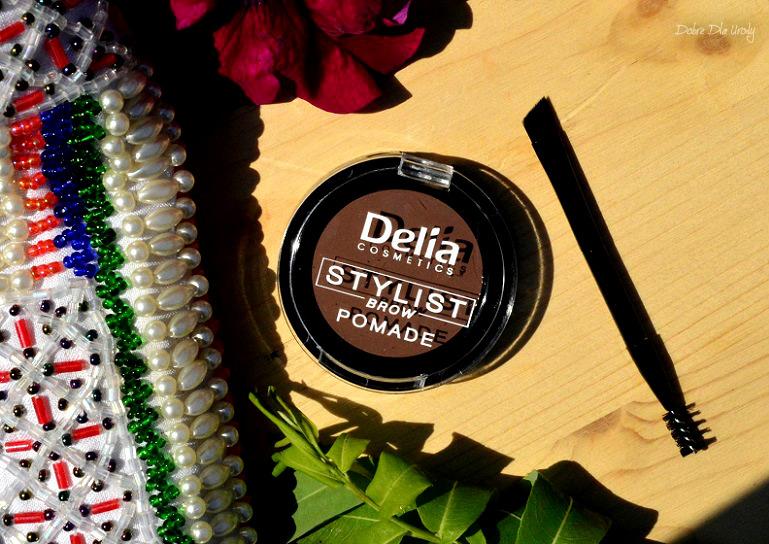 Pomada do brwi Eyebrow Expert Delia Cosmetics - Jasny Brąz  recenzja