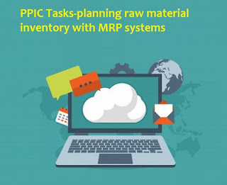 PPIC Tasks-Planning Raw Material Inventory With MRP Systems