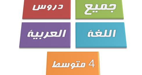 "Résultat de recherche d'images pour ""دروس وملخصات  في اللغة العربية للسنة الرابعة متوسط"""