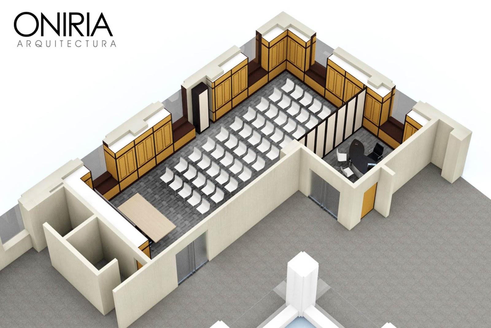 Oniria for Salon de usos multiples programa arquitectonico