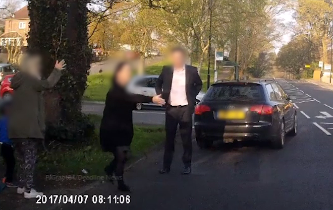 Horrifying footage of little boy being hit by a car going 30mph outrages viewers who can't decide if the driver or the 'mum' is to blame