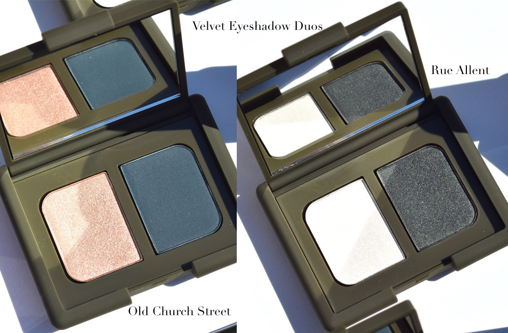 NARS x Charlotte Gainsbourg swatches review Jo Jeanette Old Church Street Rue Allent