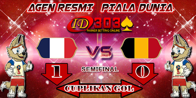 CUPLIKAN GOL FRANCE 1 - 0 BELGIUM