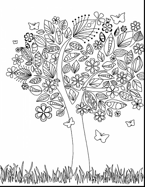 Marvelous Abstract Adult Coloring Pages With Coloring Pages For Adults  Flowers And Coloring Pages For Adults