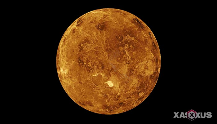 Gambar planet venus - urutan planet ke-2