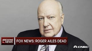 Fox News' Ex-CEO Roger Ailes Dead