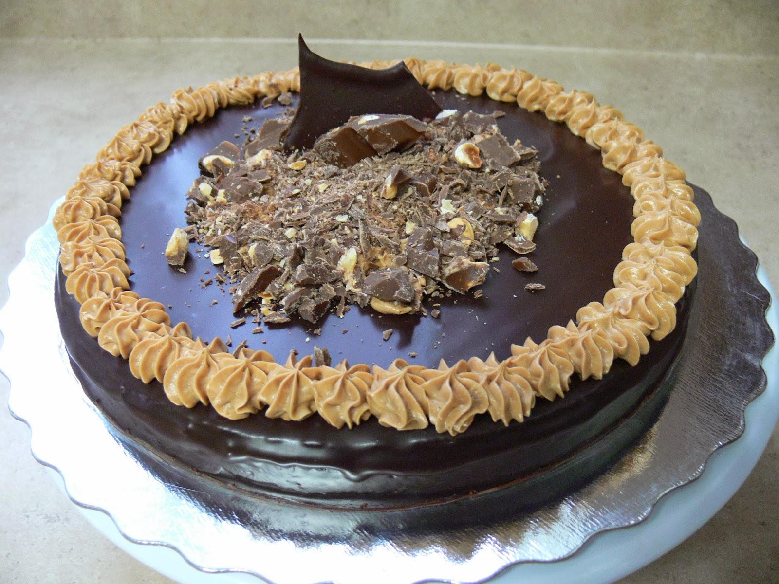 The Ultimate Chocolate Blog: Flourless Hazelnut Dark Chocolate Truffle Cake  Recipe