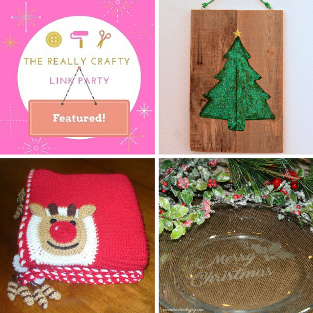 The Really Crafty Link Party #43 featured posts