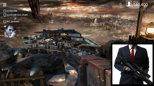 Hitman Sniper - 7 Rekomondasi Game Mirip PUBG Tapi OFFLINE yang Wajib Kamu Install