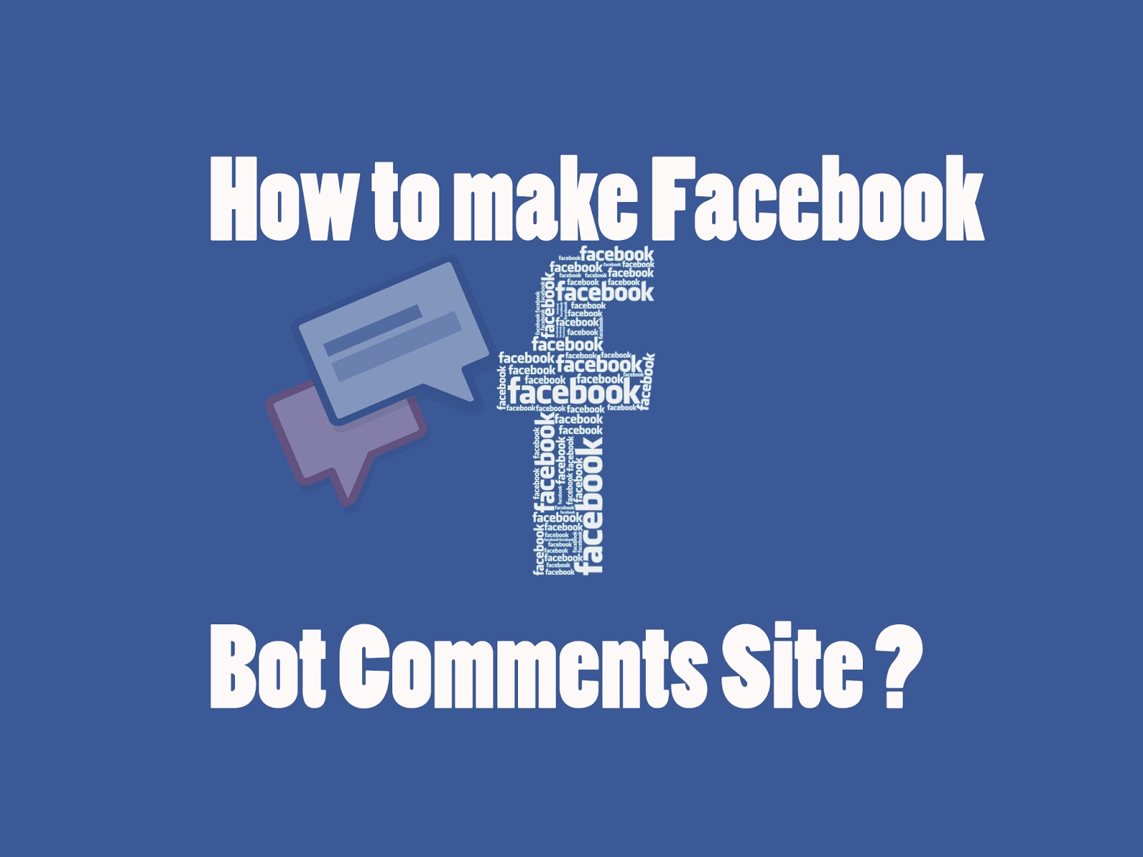 How to make Facebook Bot Site on 2FreeHosting - VidzToday