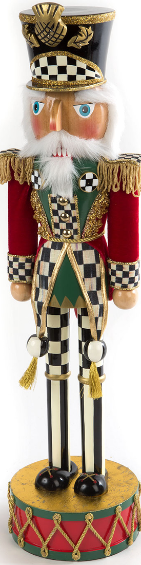 MACKENZIE-CHILDS HIGHLAND NUTCRACKER 12.5""