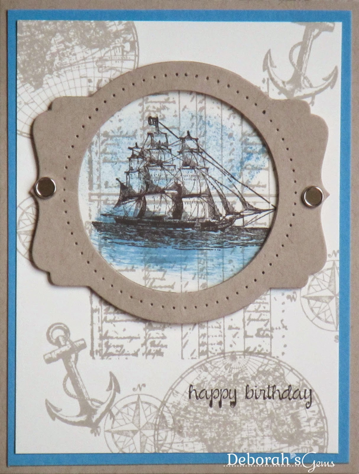 Nautical B'day - photo by Deborah Frings - Deborah's Gems