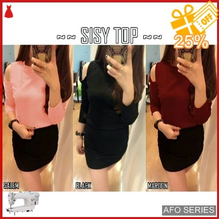 AFO268 Model Fashion Sisy Top Modis Murah BMGShop