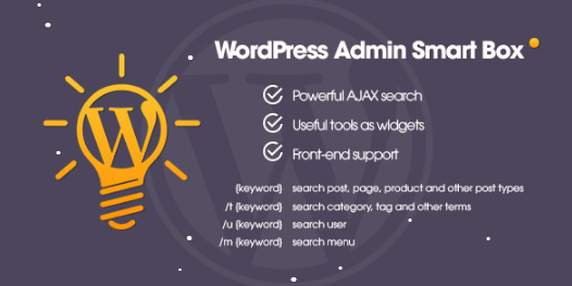 Download Free WP Admin Smart Box WordPress Plugin