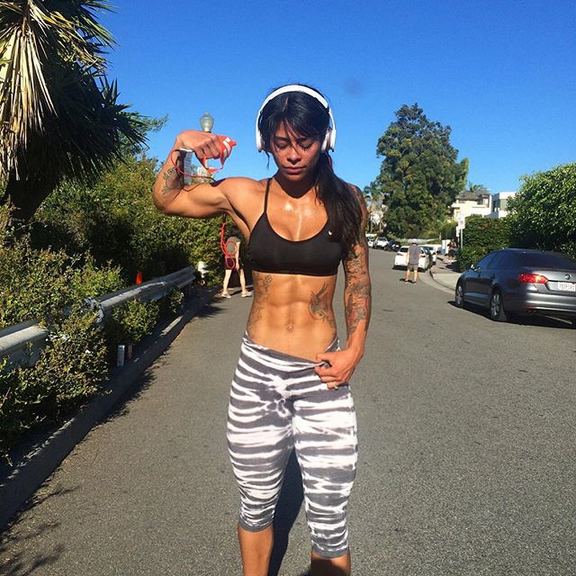 Fitness Model Massy Arias