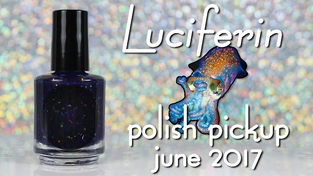 Octopus Party Nail Lacquer Luciferin • Polish Pickup June 2017 • Under The Sea