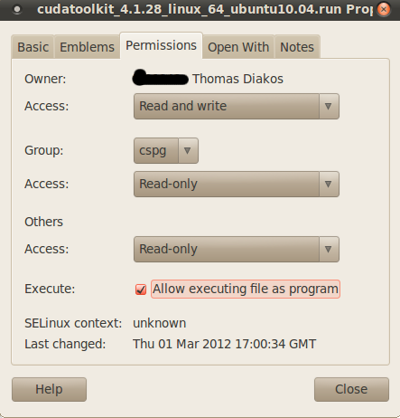 Getting ready to develop with CUDA in Eclipse under Ubuntu