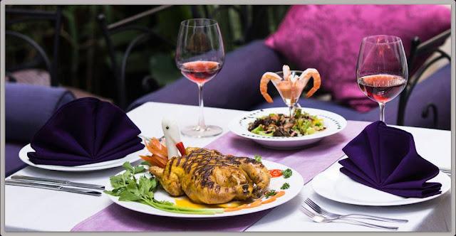 Nhà hàng có phong cách Tây nổi tiếng ở Sài thành.