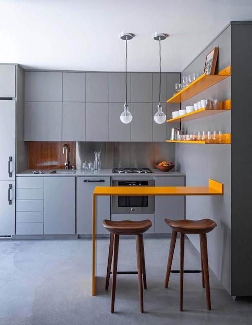 Інтер єр маленької кухні