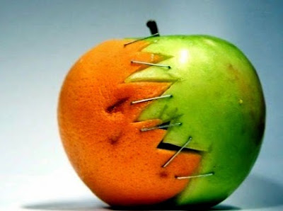 la pareja cuando se une, media naranja