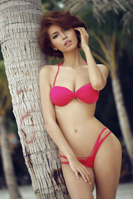 Hot girls Sexy vietnamese lady with Bikini