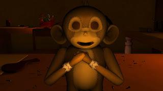 3D Toy Monkey