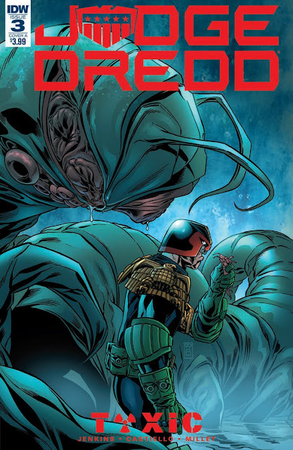"Preview de ""Judge Dredd: Toxic!"" núm. 3 de Paul Jenkins."