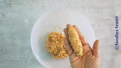 Veg Schezwan Fritters